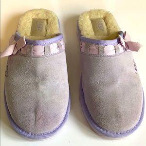 Uggs Purple Kids slippers